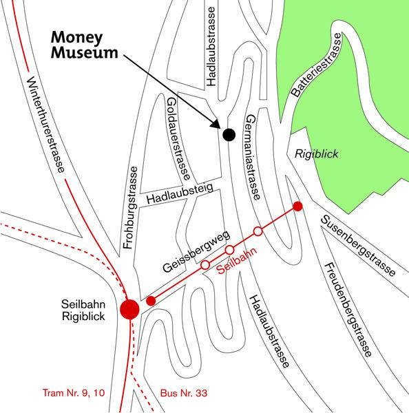 Lageplan Hadlaubstrasse 106