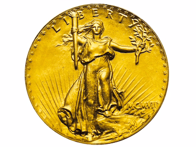 The Saint-Gaudens coins, 1908