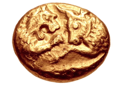 Impertinently Rich: Croesus' first coins