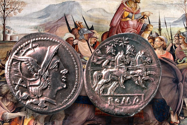 The Fall of the Roman denarius